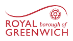 Royal Borough of Greenwich - Home logo